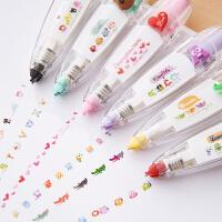 三年二班●韩国文具 创意按压式花边修正带 可爱修饰带 日记装饰