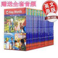 原版进口绘本童书Key words快乐瓢虫1-36套装sight words分级