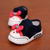 201908220140024802019年春夏宝宝帆布鞋男童女童软底弹力布透气学步鞋女婴儿幼儿软底宝宝防滑机能鞋婴儿