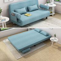 【限时直降3折】懒人沙发小户型客厅布艺沙发椅可折叠沙发床单双人两用小沙发简易