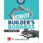 英文原版 机器人制造者指南,第五版 Robot Builder's Bonanza, 5th Edition