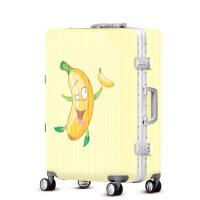 2018新款卡通香蕉人拉杆箱女士万向轮登机箱行李箱旅行箱硬箱