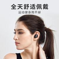 蓝牙耳机双耳5.0耳塞式开车可接听电话入耳式重低音运动跑步苹果头戴式耳机新款 标配