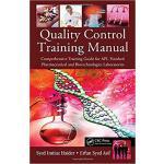 【预订】Quality Control Training Manual 9781439849941