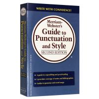 正版现货 韦氏标点符号用法风格指导 英文原版 Merriam Webster's Guide to Punctuati