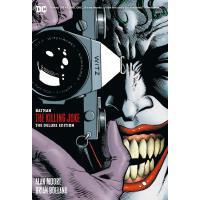 英文原版 蝙蝠侠 小丑 致命玩笑 新版新增内容 精装 Batman: The Killing Joke Deluxe (New Edition) 收藏版 Alan Moore DC漫画