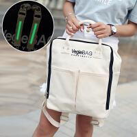 帆布补习袋小学生书包手提袋 男女儿童补习包手拎补课包美术包