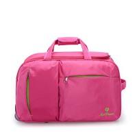 旅行包女手提拉杆包行李包防水短途旅行袋折叠旅游出差