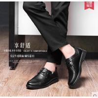 富贵鸟新品真皮鞋男士牛皮英伦日常商务休闲皮鞋系带单鞋潮男鞋子A603217