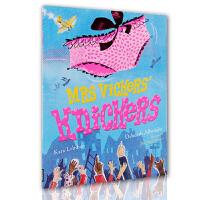 英文原版绘本Mrs Vickers Knickers维氏夫人短裤 儿童趣味图画故事书 亲子互动 平装大开