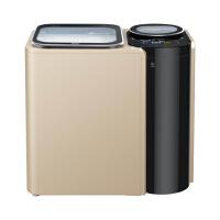 Haier 海尔 FMS100-B261U1(金) 波轮10公斤 子母机免清洗洗衣机