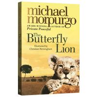 正版现货 蝴蝶狮 英文原版 儿童小说 The Butterfly Lion 柑橘与柠檬啊作者 麦克莫波格 英文版儿童文