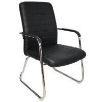 颐海办公椅电脑椅子家用人体工程学弓形会议椅老板皮椅
