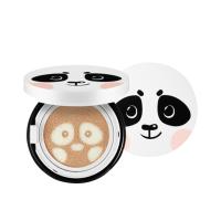 韩国原装爱神菲(SNP)动物萌宠熊猫美白保湿气垫bb霜 12G 自然色