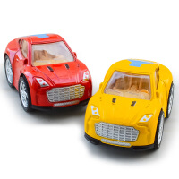 卡通迷你宝马 奥迪 布加迪 阿斯顿马丁儿童回力玩具车模型