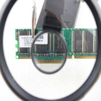 OUJIN 多功能带夹具放大镜 台式放大镜 线路板电子钟表维修放大镜焊台工作台电烙铁放大镜