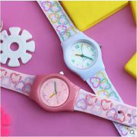 男女童手表 智能手表 户外多功能电子表 可爱时尚卡通儿童手表 韩版糖果色女童表女孩男童款学生表女生表