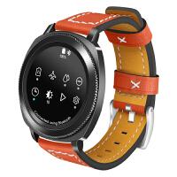 sgear s3/S2/sport s4智能手表galaxy watch 表带皮带制时尚个性运动f 三星sgear S