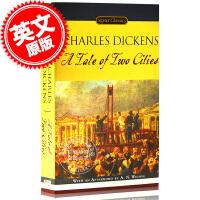 现货 双城记 英文原版 A Tale of Two Cities 英文版小说 查尔斯・狄更斯 世界经典名著 英文阅读经典