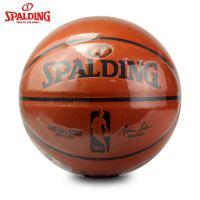 SPALDING斯伯丁篮球7号球74-570Y PU皮室内外NBA比赛球