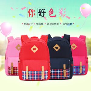 书包小学生3-5-6年级男童女童韩版背包透气耐磨儿童双肩包