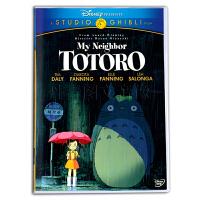 纯英文原版DVD宫崎骏Totoro龙猫 英语字幕 儿童英语动画碟片原声