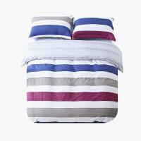 当当优品磨毛四件套 纯棉加厚磨毛保暖床品 双人床单四件套 纳瑞尔(红)