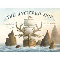 英文原版 狐狸马可与鹿角船 范氏兄弟Terry Fan & Eric Fan插画 The Antlered Ship