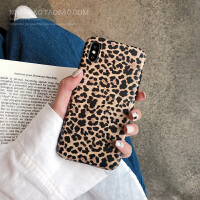 创意豹纹iphone8plus手机壳6s新款防摔硅胶苹果x/xr/xs max/7软壳 iPhone Xs Max
