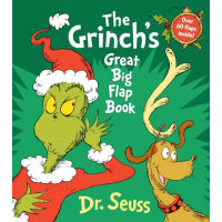 The Grinch's Great Big Flap Book (Great Big Board Book) 圣诞怪