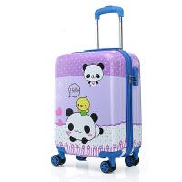 行李箱拉杆箱手拉箱拉箱19英寸拉杆箱包男女行李箱子学生旅行箱卡通韩版拉杆书包登机箱沙滩途途拉杆箱