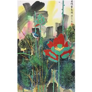 黄永玉《花鸟》著名画家