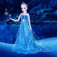 包邮冰雪公主奇缘60厘米娃娃爱莎公主娃娃玩偶艾莎公主女孩子玩具