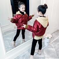 儿童冬装童装小女孩外套短款面包服棉袄女童棉衣