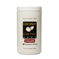 美国直邮 COCONUT COFFEE 椰子口味速溶咖啡粉 540g/罐 海外购