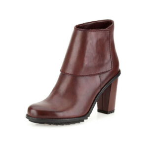 Clarks/其乐女鞋2017秋冬新款真皮机车休闲短靴Keswick Water专柜正品直邮