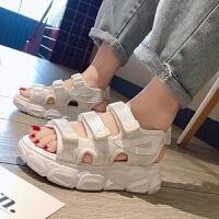 松糕厚底运动凉鞋女2019夏季新款韩版潮休闲百搭学生网红沙滩鞋子