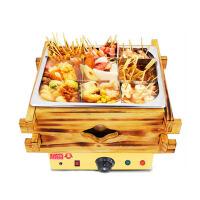 电热关东煮机商用小吃设备9格不锈钢麻辣烫锅 串串香丸子机器