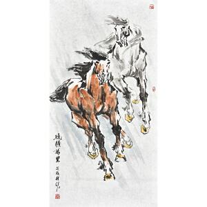 中国美术家协会会员 苗桂欣《�腾万里》