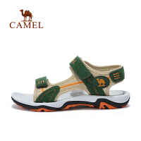 camel骆驼夏季儿童户外运动凉鞋男童露趾魔术贴沙滩鞋