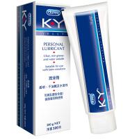 Durex 杜蕾斯 KY 男女用人体润滑剂 润滑油 成人 润滑液 情趣 水溶性 K-Y人体润滑剂100g原装进口