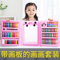 儿童画笔套装绘画笔美术用品水彩笔文具幼儿园小学生画画工具套装