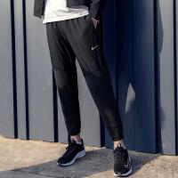 幸运叶子 Nike/耐克男裤春季新款舒适透气休闲裤收口拉链小脚裤跑步训练运动长裤CU5519-010