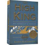 英文原版小说 The High King 至高王 奇幻岛英雄系列 1969纽伯瑞金奖 Lloyd Alexander