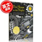 现货 夜色下的小屋 英文原版 THE HOUSE IN THE NIGHT 凯迪克金奖 儿童绘本 Susan Mari