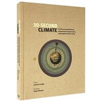 30秒读科普 气候 30 Second Climate 英文原版 英文版英语科普读物 进口原版书籍