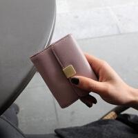卡包女式多卡位韩国可爱卡片包女士简约迷你卡夹小巧风琴卡包