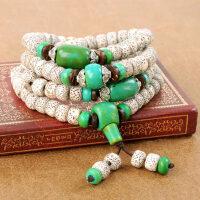 星月菩提子手串 正月108颗高密度藏式情侣佛珠手链
