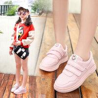 女童板鞋秋季儿童小白鞋运动鞋童鞋中大童学生休闲鞋