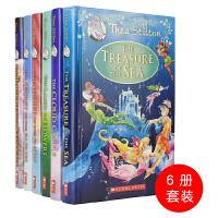Scholastic Thea Stilton 学乐出品女版老鼠记者探险故事6册 儿童桥梁书 全彩插图 儿童英文原版进
